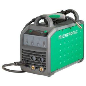 Комбиниран апарат за заваряване- телоподаващо и електрожен MIGATRONIC RallyMig 160 A Image