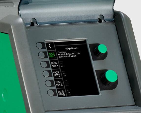 Automig 300 Pulse Migatronic контролен панел памет