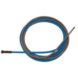 Стоманено жило BINZEL за MB EVO 15/25, 150А, 250А ф. 0.6 - 0.8 мм, синьо, 5 м Image