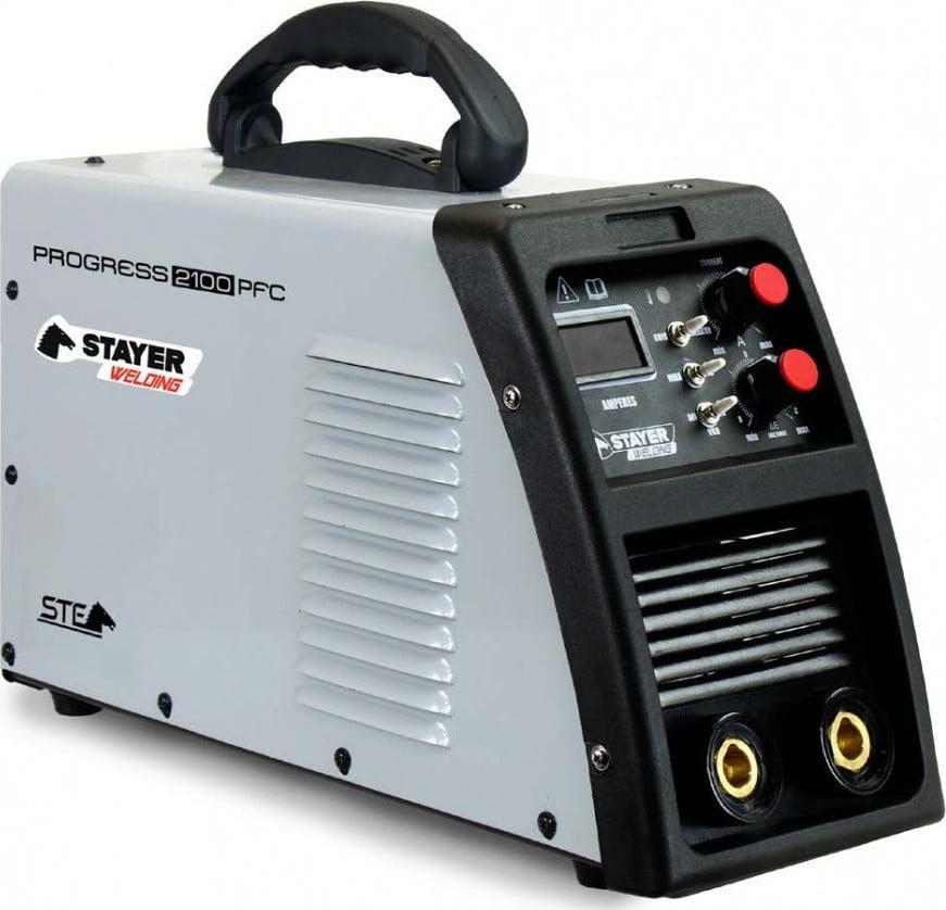 Инверторен електрожен STAYER PROGRESS 210 A Image